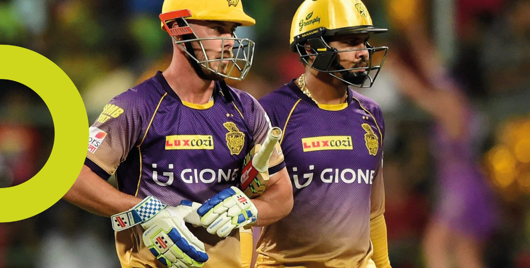 Kolkata Knight Riders IPL Kit Design