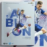 An image of the BHAFC match day programme front cover design