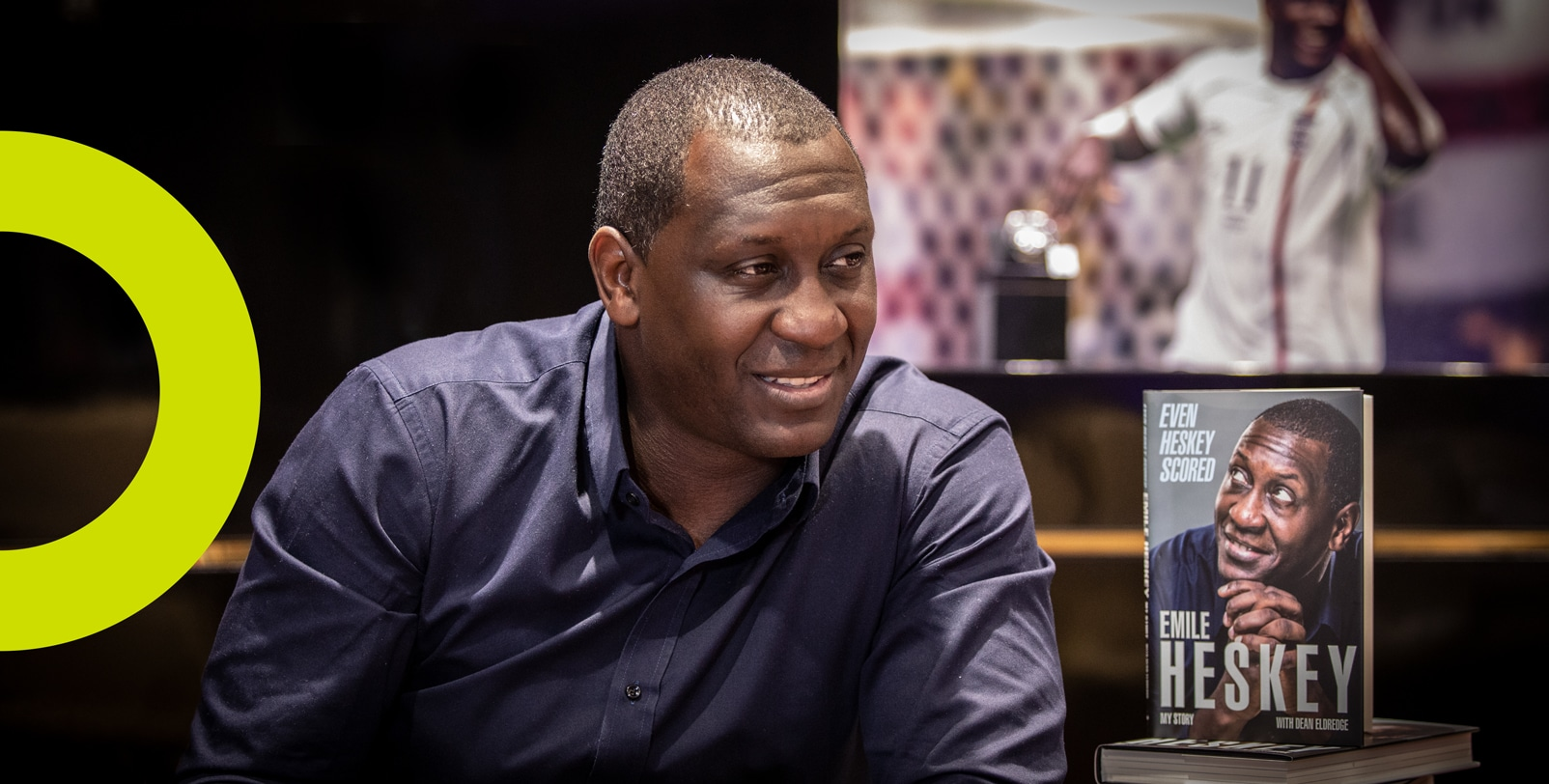 Emile Heskey Book Launch Event 2019