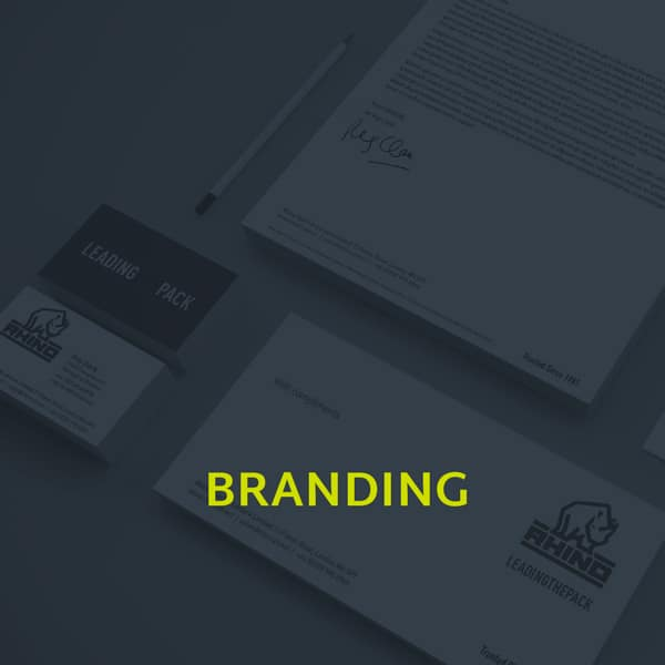 A image showing the branding section of our portfolio