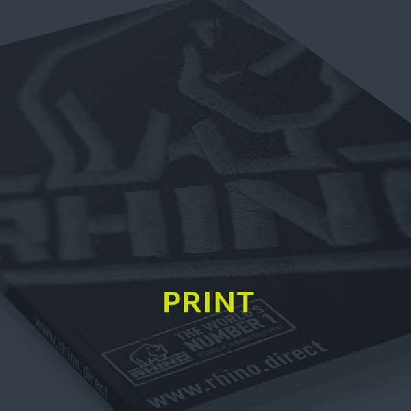 A image showing the print section of our portfolio