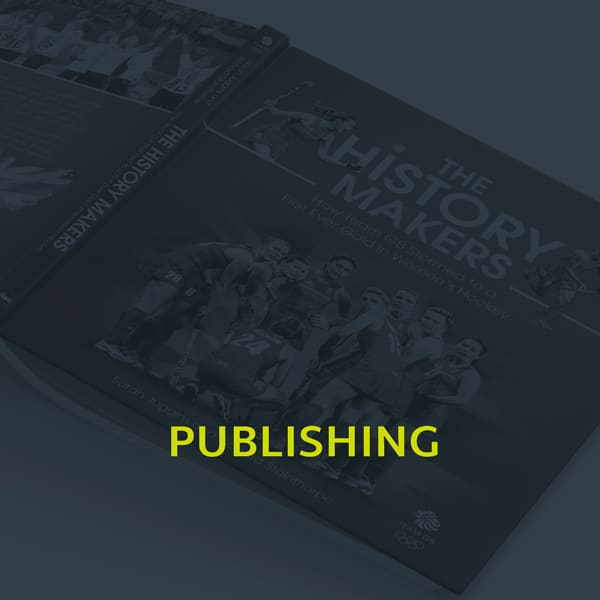 A image showing the publishing section of our portfolio